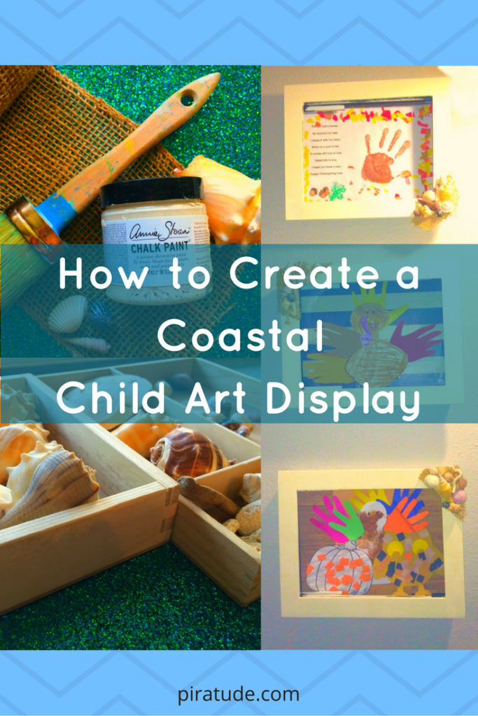 pinterest-coastal-child-art-display