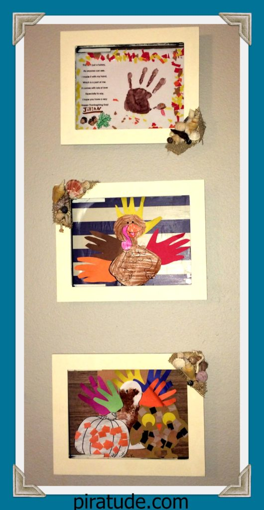 coastal-child-art-display-on-wall